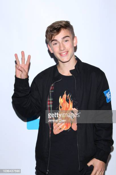 Johnny Orlando arrives to WE Day Toronto and the WE Carpet at Scotiabank Arena on September 20 2018 in Toronto Canada