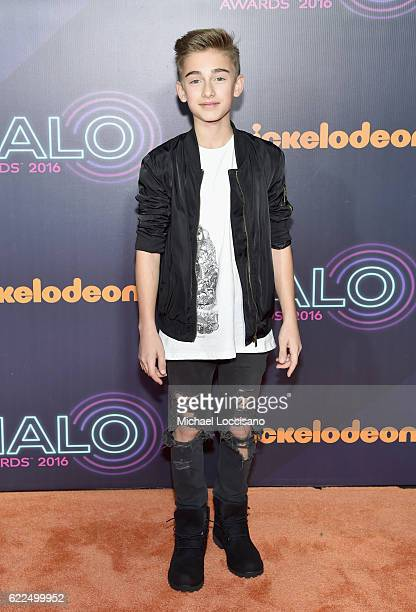 Johnny Orlando attends the 2016 Nickelodeon HALO awards at Basketball City Pier 36 South Street on November 11 2016 in New York City