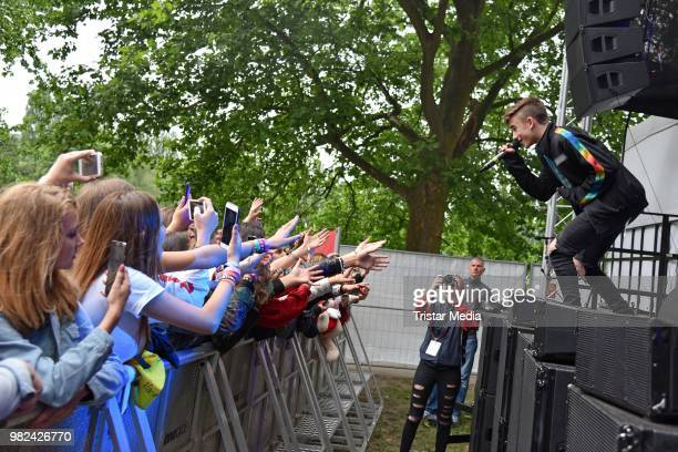 Johnny Orlando during the YOU Summer Festival 2018 on June 23 2018 in Berlin Germany