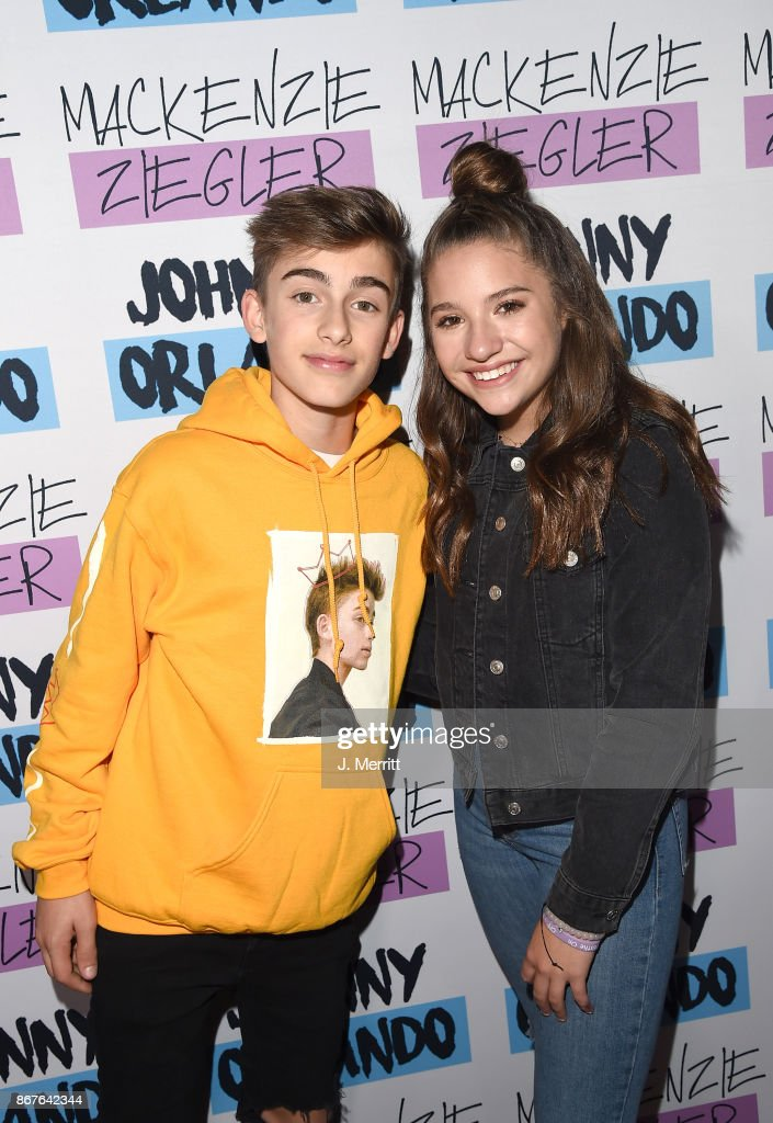 Johnny orlando mackenzie ziegler in concert millvale pa photos johnny orlando mackenzie ziegler pose during a meet and greet on their day m4hsunfo Gallery