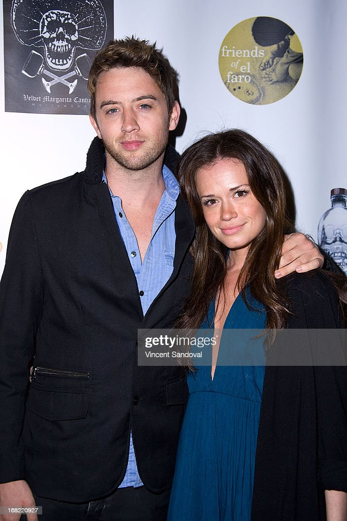 Johnny Pacar and Christie Burson attend the 10th annual anniversary and Cinco De Mayo benefit with annual Charity Celebrity Poker Tournament at Velvet Margarita on May 4, 2013 in Hollywood, California.