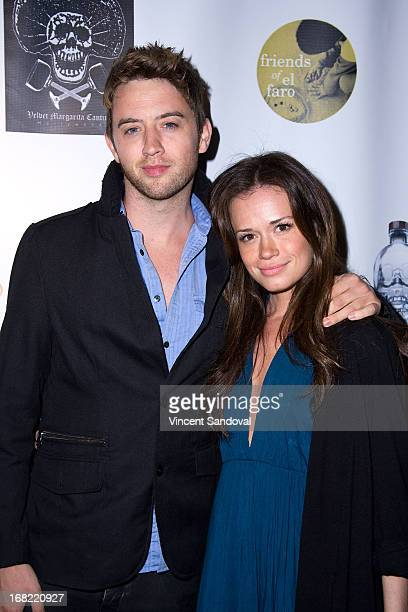 Johnny Pacar and Christie Burson attend the 10th annual anniversary and Cinco De Mayo benefit with annual Charity Celebrity Poker Tournament at...
