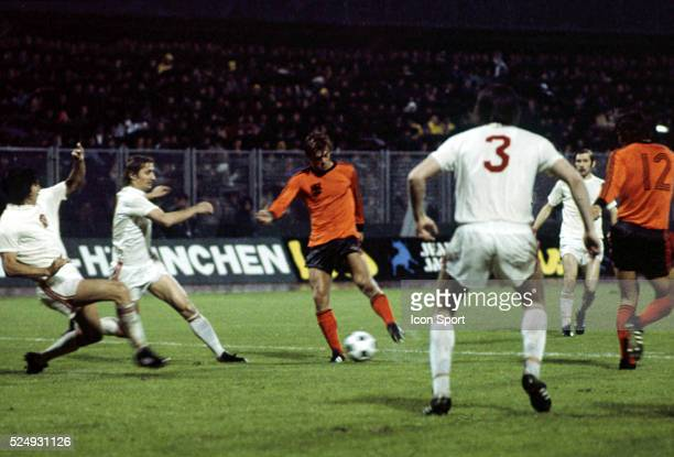 Johnny Rep of Holland during the European Championship between Czechoslovakia and Holland in Stadium Maksimir Zagreb Yugoslavia on 16th June 1976