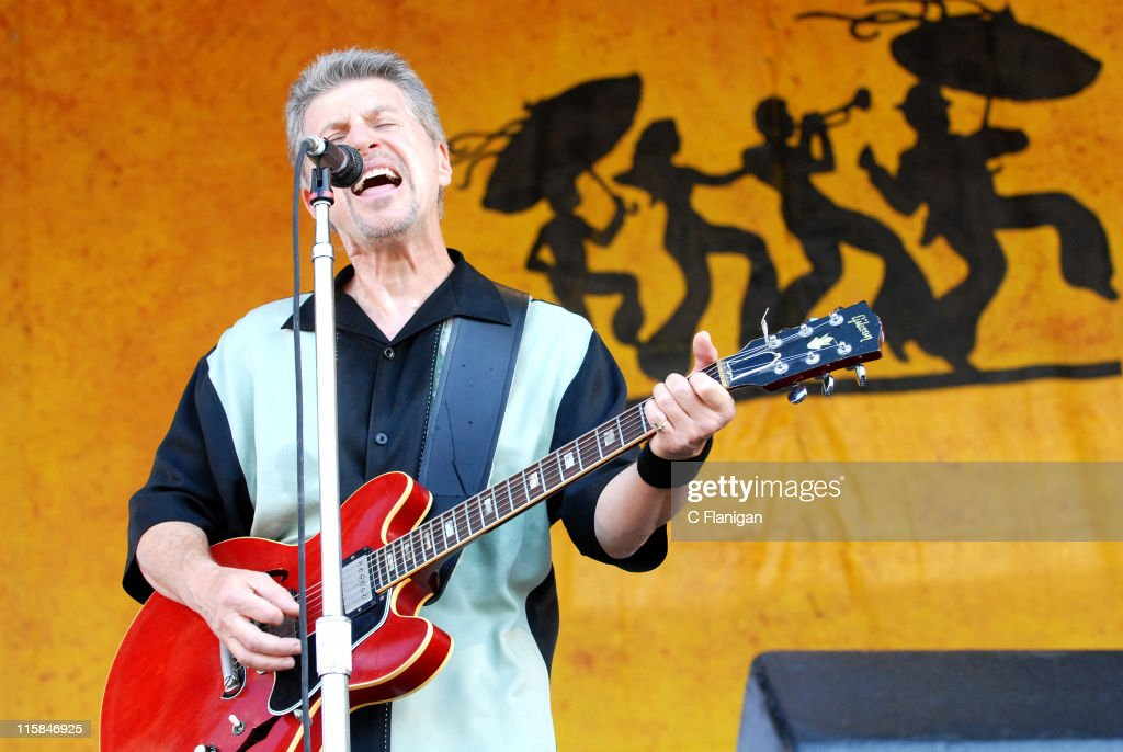 Johnny Rivers during 38th Annual New Orleans Jazz & Heritage Festival Presented by Shell - Johnny Rivers at Fair Grounds Race Course in New Orleans, Louisiana, United States.