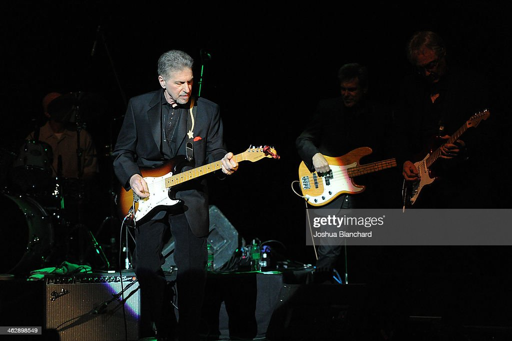 Johnny Rivers performs at 'When Rock and Blues Hit The Sunset Strip' 50th Anniversary Celebration with Johnny Rivers and Jimmy Webb at the Saban Theatre on January 15, 2014 in Beverly Hills, California.