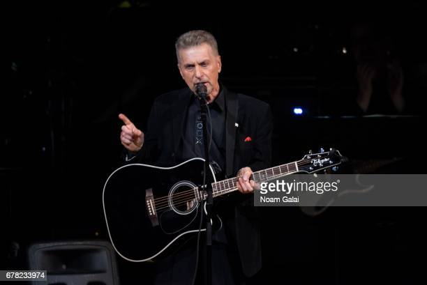 Johnny Rivers performs during a tribute concert honoring Jimmy Webb at Carnegie Hall on May 3 2017 in New York City