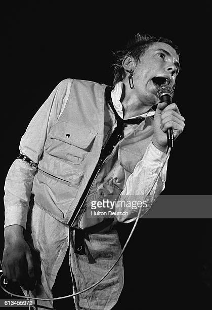 Johnny Rotten Of The Sex Pistols