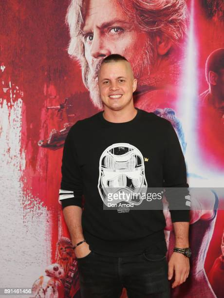 Johnny Ruffo attends Star Wars The Last Jedi Sydney Screening Event on December 13 2017 in Sydney Australia