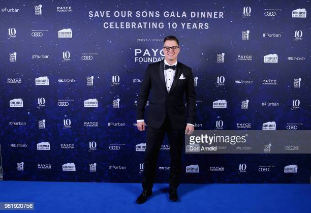 Johnny Ruffo attends the Save Our Sons Sydney Gala Dinner at the ICC Sydney on June 23 2018 in Sydney Australia