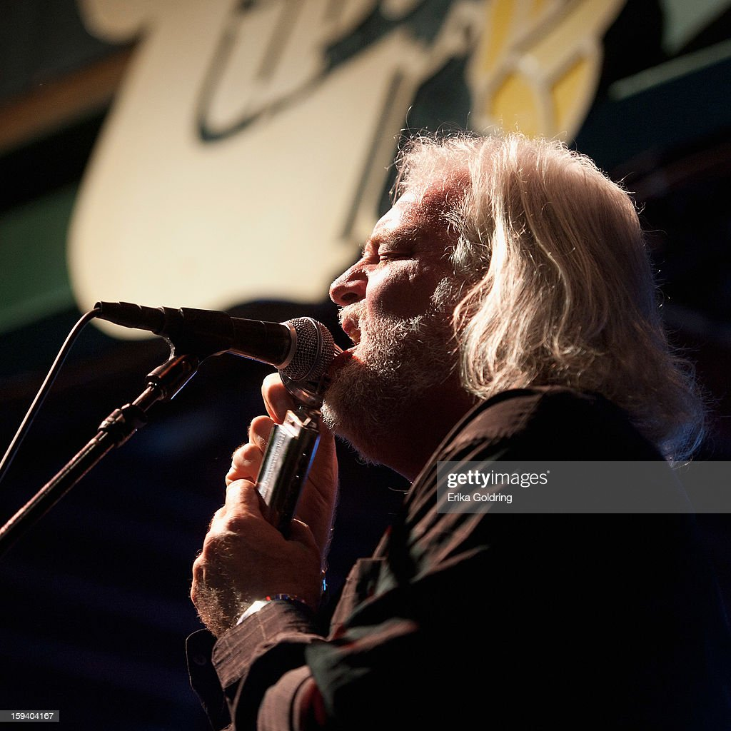 Johnny Sansone performs during 'My Lil' Darlin': An HBO Treme All Star Revue' at Tipitina's on January 12, 2013 in New Orleans, Louisiana.