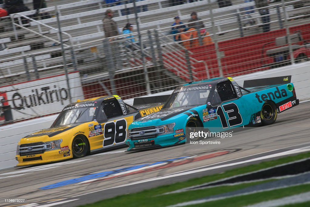 AUTO: FEB 23 NASCAR Gander Outdoors Truck Series - Ultimate Tailgating 200 : News Photo