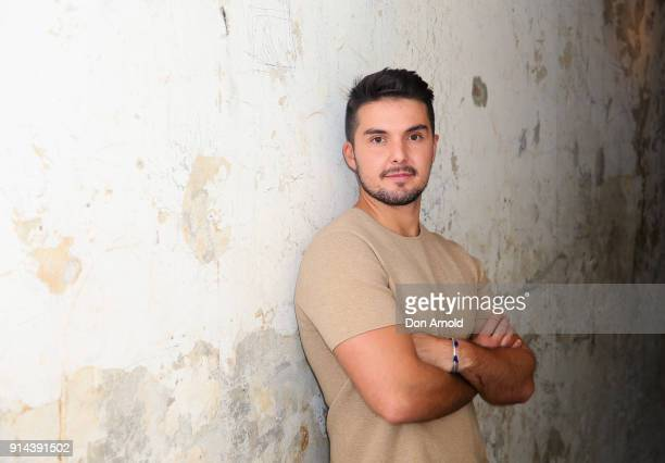 Johnny Schembri poses inside Chi Town restaurant on February 5 2018 in Sydney Australia