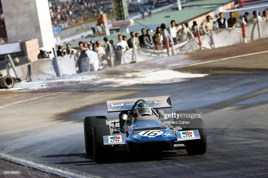 Johnny Servoz-Gavin, Grand Prix Of Spain : News Photo