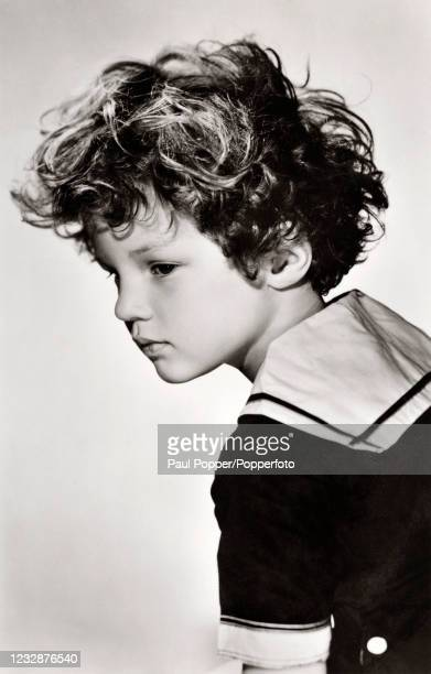Johnny Sheffield, American child stage and film actor who appeared as Boy in eight Tarzan films and as Bomba, the Jungle Boy in 12 movies, circa 1935.