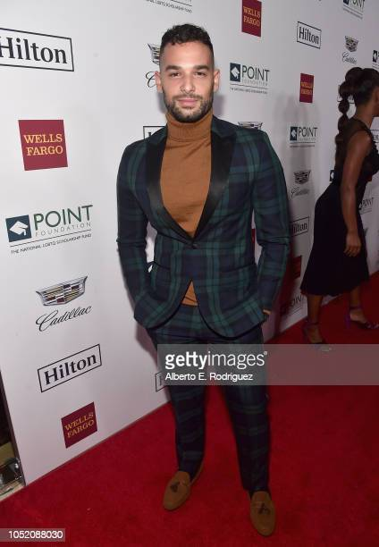 Johnny Sibilly arrives at Point Foundation's Point Honors gala at The Beverly Hilton Hotel on October 13 2018 in Beverly Hills California
