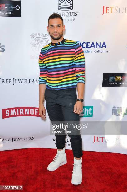 Johnny Sibilly attends Boo2Bullying's 4th Annual Take A Bite Out Of Bullying at the Los Angeles LGBT Center on July 26 2018 in Los Angeles California