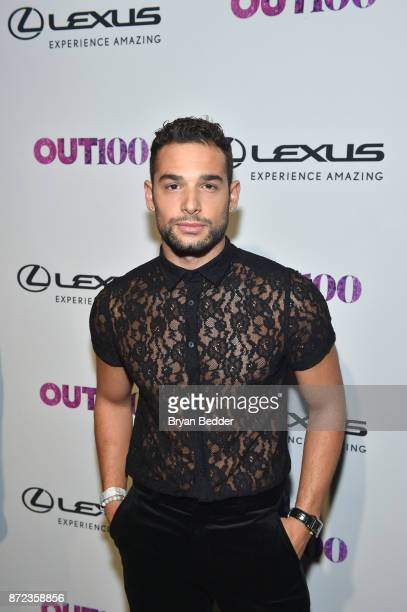 Johnny Sibilly attends OUT Magazine #OUT100 Event presented by Lexus at the the Altman Building on November 9 2017 in New York City