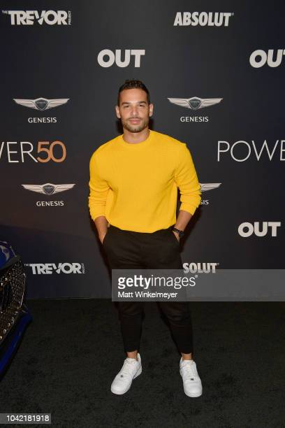 Johnny Sibilly attends OUT Magazine's Power 50 Award Celebration Presented By Genesis at NeueHouse Los Angeles on September 27 2018 in Hollywood...