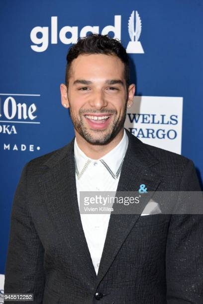 Johnny Sibilly attends the 29th Annual GLAAD Media Awards at The Beverly Hilton Hotel on April 12 2018 in Beverly Hills California