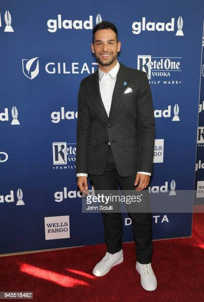 Johnny Sibilly attends the 29th Annual GLAAD Media Awards Los Angeles partnered with Ketel One FamilyMade Vodka a longstanding ally of the LGBTQ...
