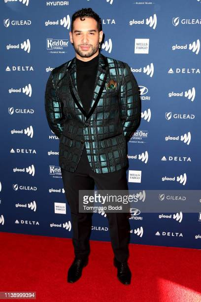 Johnny Sibilly attends the 30th Annual GLAAD Media Awards at The Beverly Hilton Hotel on March 28 2019 in Beverly Hills California