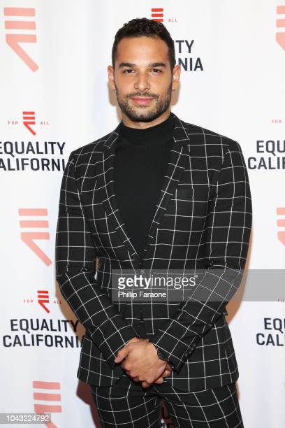 Johnny Sibilly attends the Equality California 2018 Los Angeles Equality Awards at JW Marriott Los Angeles at LA LIVE on September 29 2018 in Los...