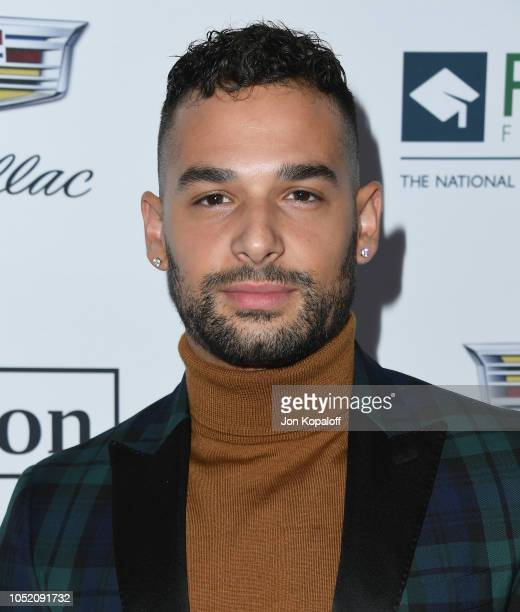 Johnny Sibilly attends the Point Foundation Honors Los Angeles 2018 Gala at The Beverly Hilton Hotel on October 13 2018 in Beverly Hills California