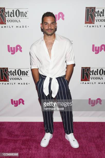 Johnny Sibilly attends The Queer Eye Emmy Cast Party hosted by Ketel One FamilyMade Vodka at Kimpton La Peer Hotel on September 8 2018 in West...