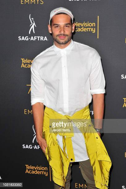 Johnny Sibilly attends the Television Academy and SAGAFTRA CoHost Dynamic Diverse Emmy Celebration at Saban Media Center on September 11 2018 in...