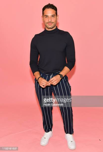 Johnny Sibilly poses for portrait at the Revry's 4th annual QueerX Festival at The London West Hollywood on June 01 2019 in West Hollywood California