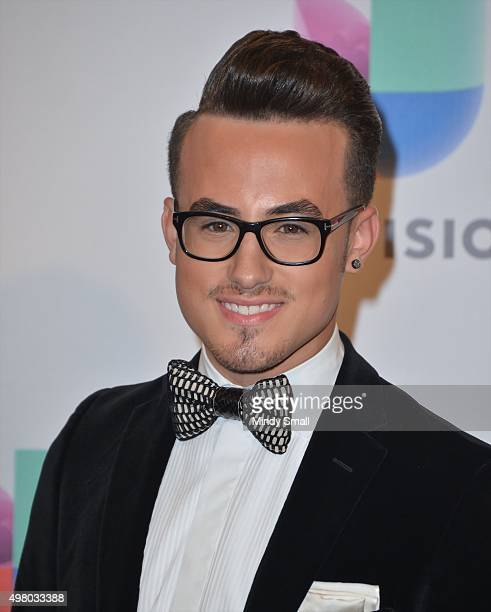 Johnny Sky poses in the press room during the 16th Latin GRAMMY Awards at the MGM Grand Garden Arena on November 19 2015 in Las Vegas Nevada