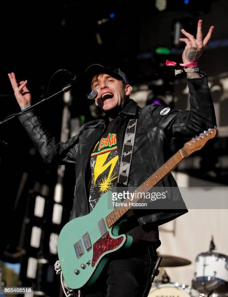 Johnny Stevens of Highly Suspect performs at the Lost Lake Music Festival on October 22 2017 in Phoenix Arizona
