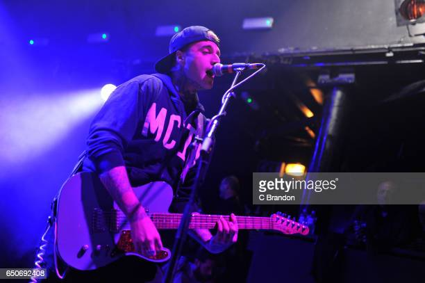 Johnny Stevens of Highly Suspect performs on stage at Koko on March 9 2017 in London United Kingdom