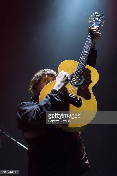 Johnny Took of DMA'S performs at Usher Hall on November 28 2017 in Edinburgh Scotland