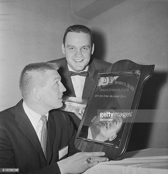 Johnny Unitas Reciving Award