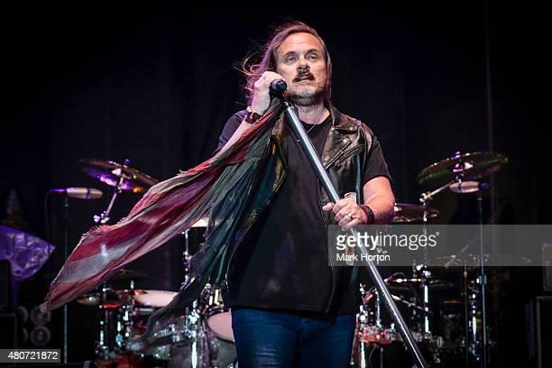 Johnny Van Zant of Lynyrd Skynyrd performs on Day 6 of the RBC Royal Bank Bluesfest on July 14 2015 in Ottawa Canada