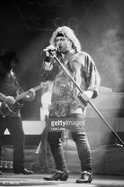 Johnny Van Zant of Lynyrd Skynyrd performs on September 4 in Allentown Pennsylvania