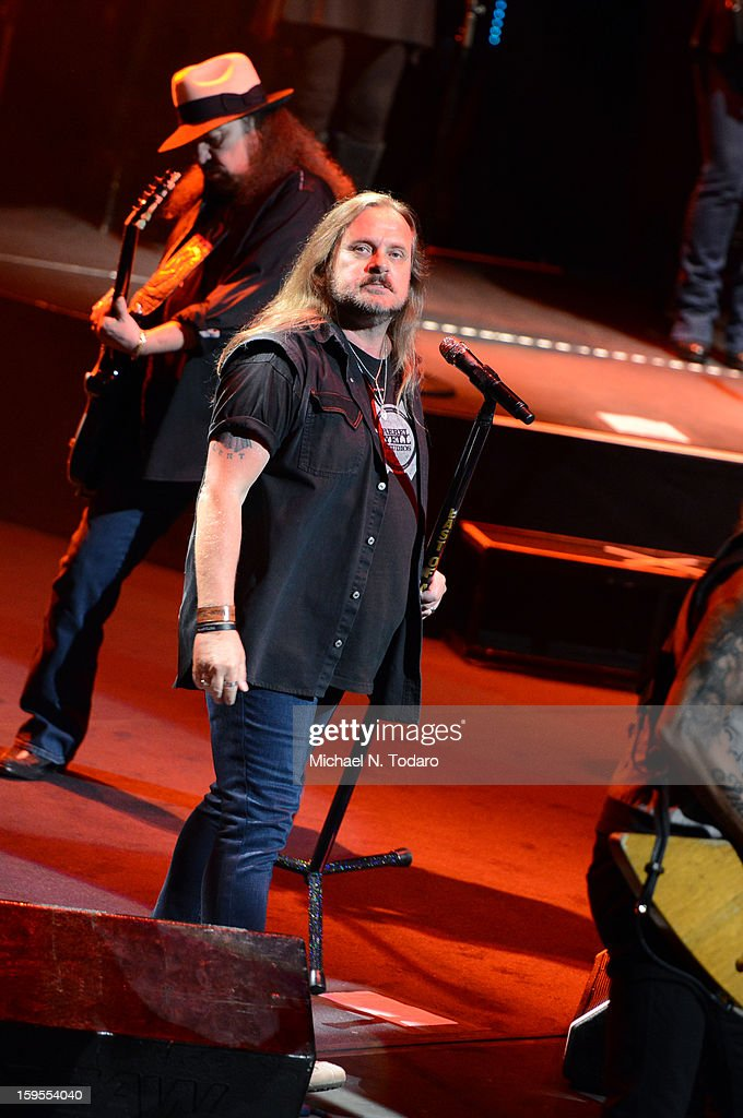 Johnny Van Zant performs at The Beacon Theatre on January 15, 2013 in New York City.