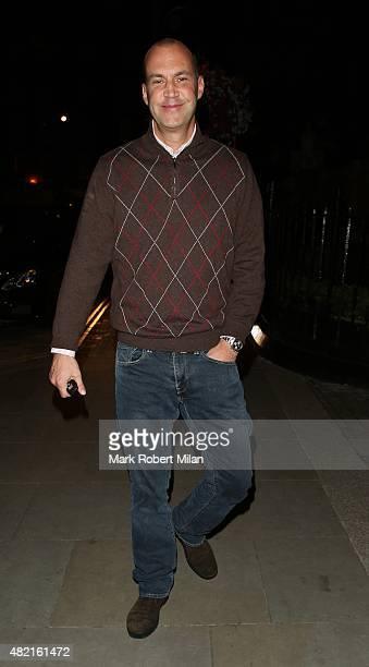 Johnny Vaughan at the Chiltern Firehouse on July 27 2015 in London England