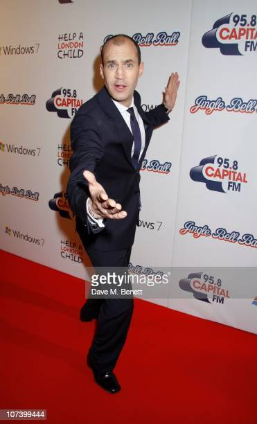 Johnny Vaughn attends the Jingle Bell Ball at the O2 Arena on December 5 2010 in London England