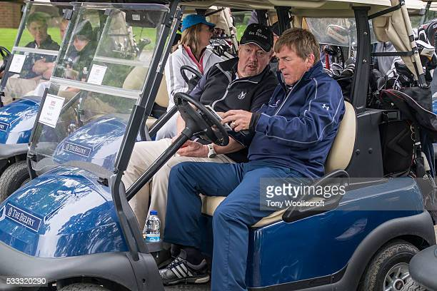 Johnny Vegas and Kenny Dalglish attend the Mike Tindall Celebrity Golf Classic 2016 on May 20 2016 in Sutton Coldfield United Kingdom