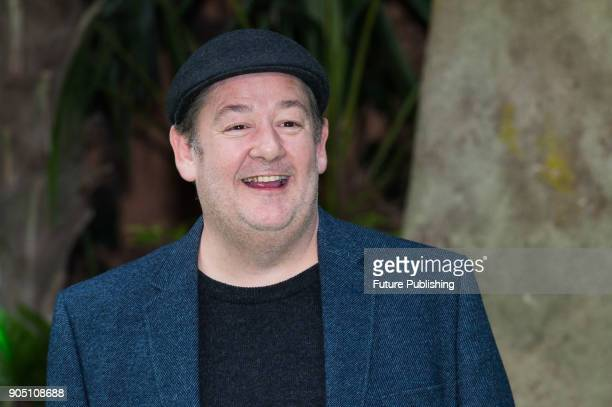Johnny Vegas arrives for the world film premiere of 'Early Man' at the BFI Imax cinema in the South Bank district of London January 14 2018 in London...