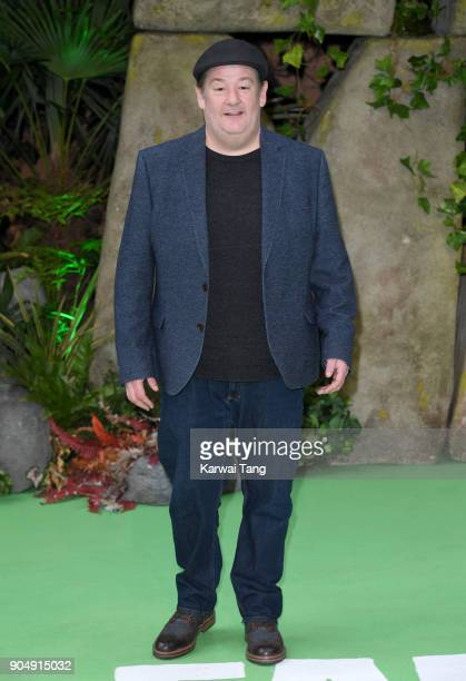 Johnny Vegas attends the 'Early Man' World Premiere at the BFI IMAX on January 14, 2018 in London, England.