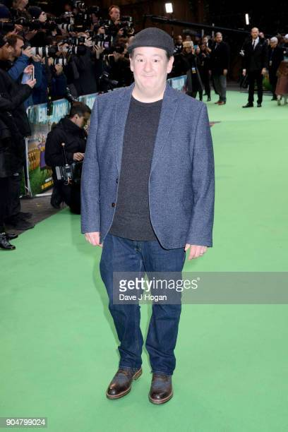 Johnny Vegas attends the 'Early Man' World Premiere held at BFI IMAX on January 14 2018 in London England