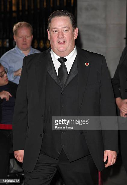 Johnny Vegas attends the Pride Of Britain Awards at The Grosvenor House Hotel on October 31 2016 in London England