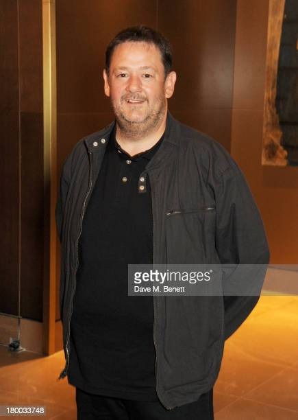 Johnny Vegas attends the UK Premiere of 'Justin and the Knights of Valour' at The May Fair Hotel on September 8 2013 in London England
