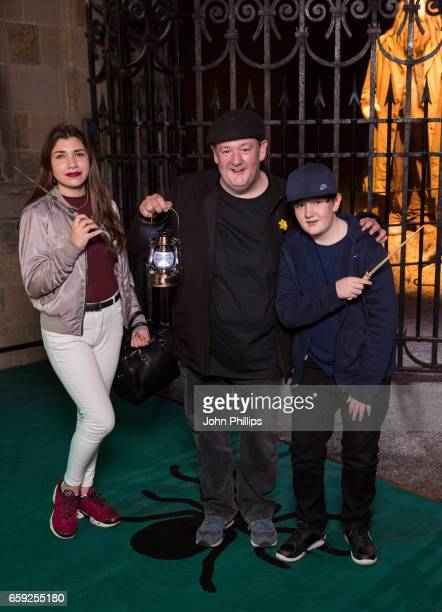 Johnny Vegas attends the Warner Bros Studio Tour on March 28 2017 in Watford United Kingdom