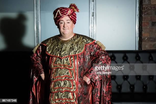 Johnny Vegas during the press launch for Show White and the Seven Dwarfs pantomime at Arthouse Square on October 27, 2017 in Liverpool, England.