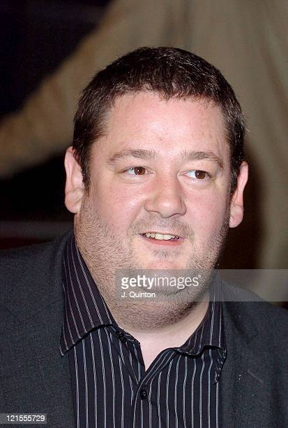 """Johnny Vegas during """"UK Music Hall of Fame"""" Live Final at The Hackney Empire in London, Great Britain."""
