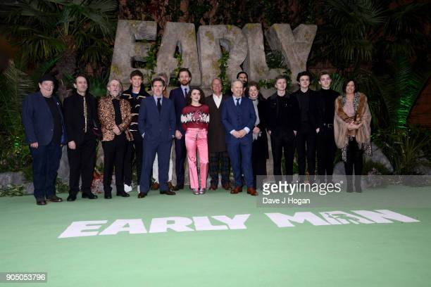 Johnny Vegas Eddie Redmayne Rob Brydon Maisie Williams Tom Hiddleston director Nick Park George Smith Blake Richardson Reece Bibby producer Carla...